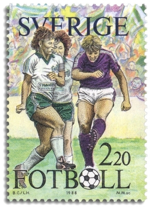 Sundhage Stamp-1988