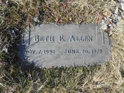 Beth's Grave