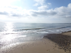 Irish Sea from Brittas Bay Beach